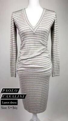 Paolo Casalini, Lurex dress, Size S