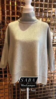 SABA, Wool Jumper, Size S