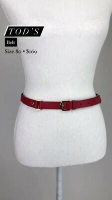 TOD'S, Belt, Size 80