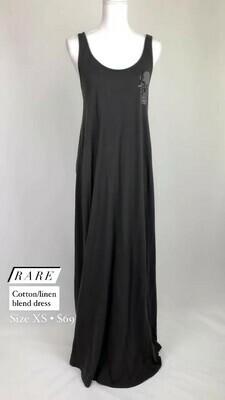 Rare, Cotton/Linen Blend Dress, Size XS