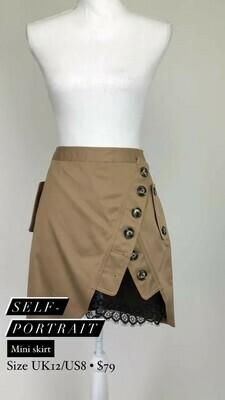 Self Portrait, Mini Skirt, Size UK12/US8