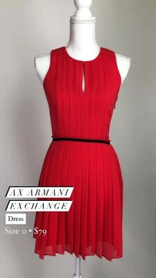 AX Amrmani Exchange, Dress, Size 0