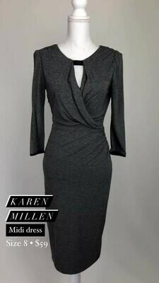 Karen Millen, Midi Dress, Size 8
