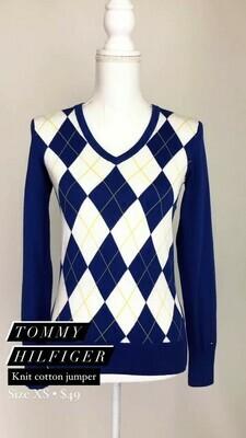 Tommy Hilfiger, Knit Cotton Jumper, Size XS