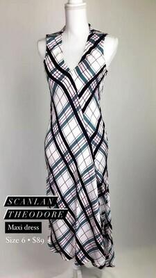 Scanlan Theodore, Maxi Dress, Size 6