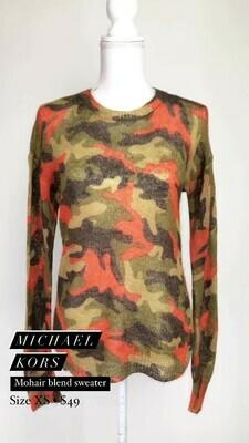 Michael Kors, Mohair Blend Sweater, Size XS