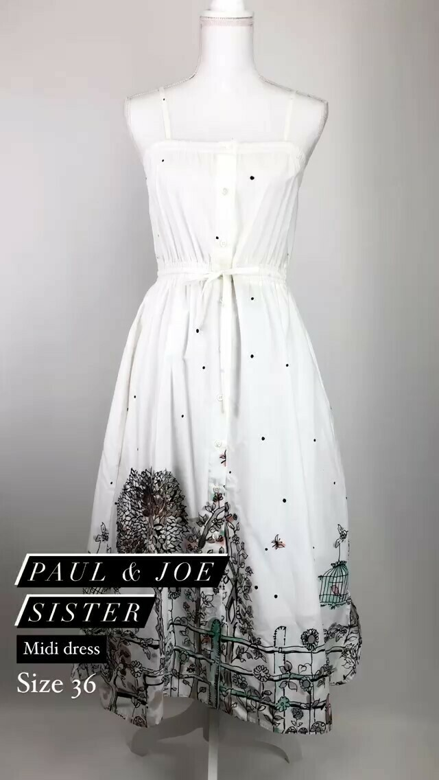Paul & Joe Sister, Midi Dress, Size 36