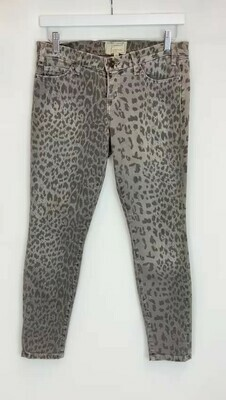 Current Elliot, Animal Print Jeans, Size 28