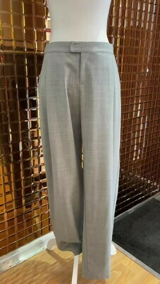 Viktoria & Woods, Grey Pleat Front Pants, Size 1