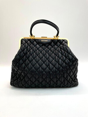 Moschino, Quilt Purse Tote Bag