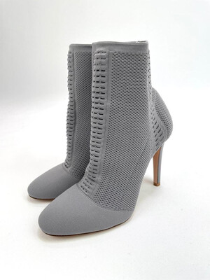 Gianvito Rossi, Knitted Ankle Boots, Size 38