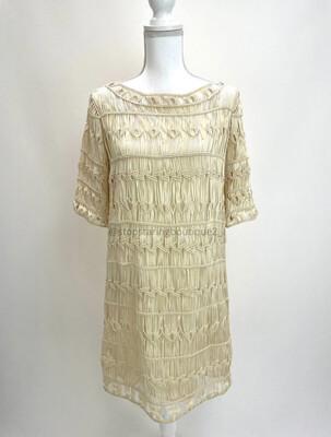 Diane Von Furstenberg, Crochet Dress, Size 12
