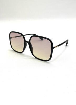 Dior Black Oversized Square Framed Sunglasses