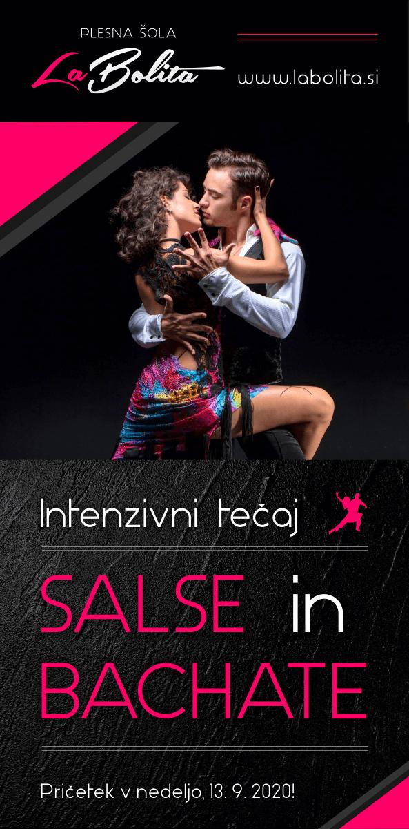 Plesni tečaji  - Salsa in Bachata - Ljubljana