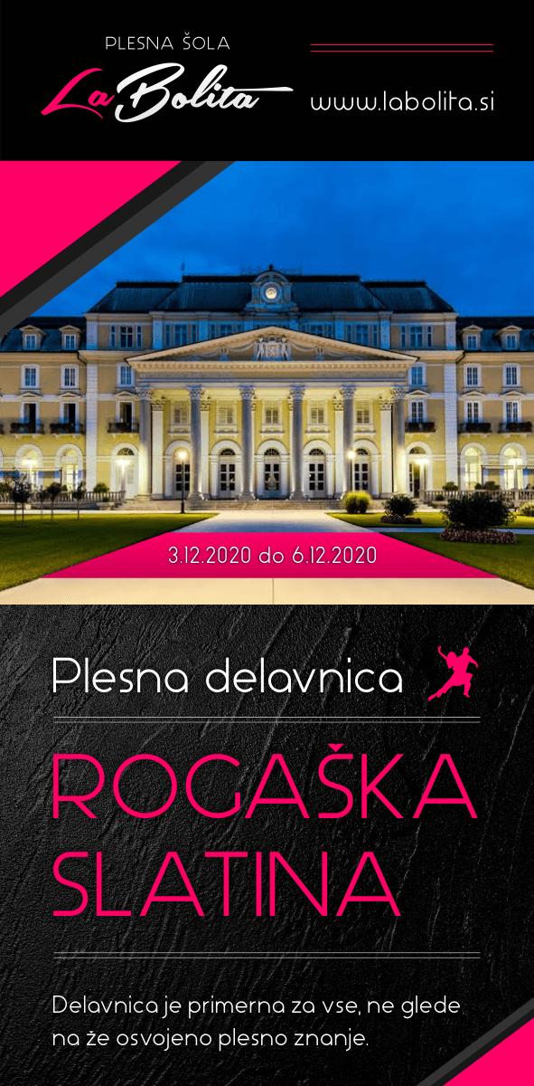 Plesna delavnica  - Rogaška Slatina 03.12.20