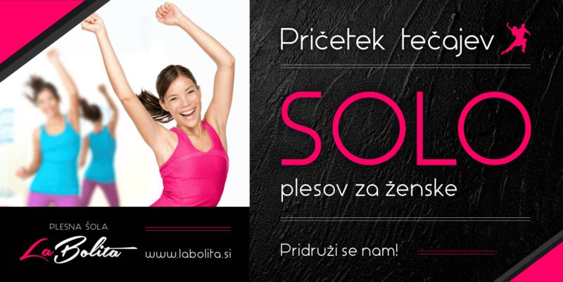 Plesni tečaj - SOLO