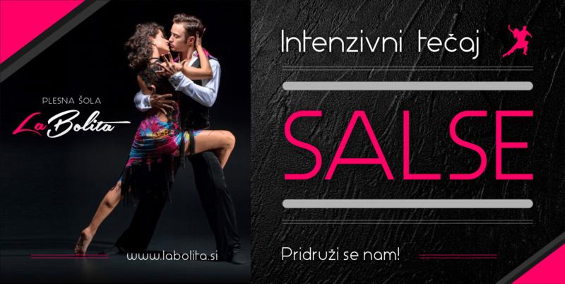 Plesni tečaji  - Salsa - Ljubljana