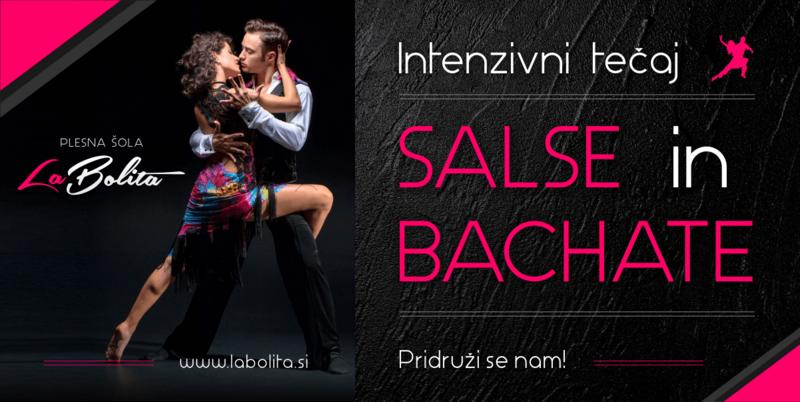 Plesni tečaji - Bachata - Ljubljana