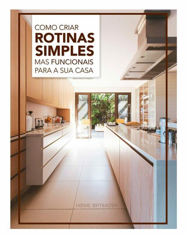Como criar rotinas simples mas funcionais para a sua casa (e-book)