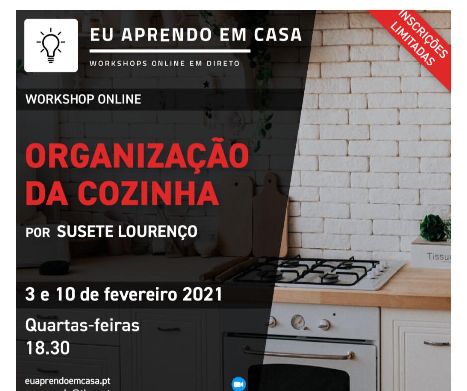 Organização Cozinha e Despensa - 3 e 10 de fevereiro – Quarta-feira