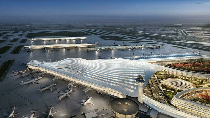 Airplanes & Airport Terminals