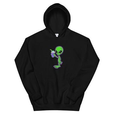 Alien Galaxy Lean Hoodie
