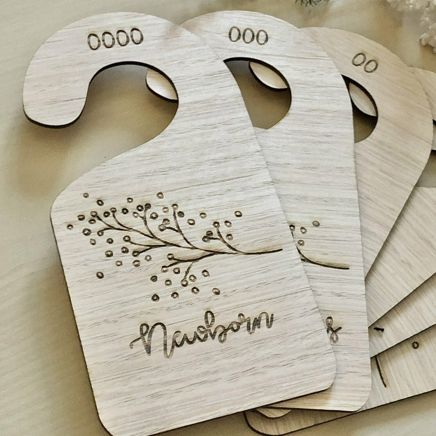Clothes Dividers | wardrobe dividers | Baby wardrobe dividers | wooden wardrobe dividers | Australian made