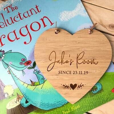 Custom Gift Tag | Personalised timber disc | Name Disc | Wood Heart Gift Tag | Heart gift memento | Gift tag