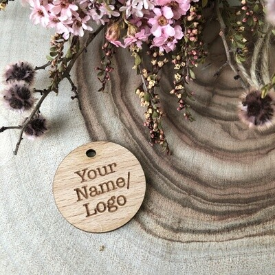 Wooden Tags | Logo Tags | Favour Tags