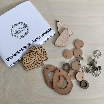 Wooden Earring Kits | Earring Kit