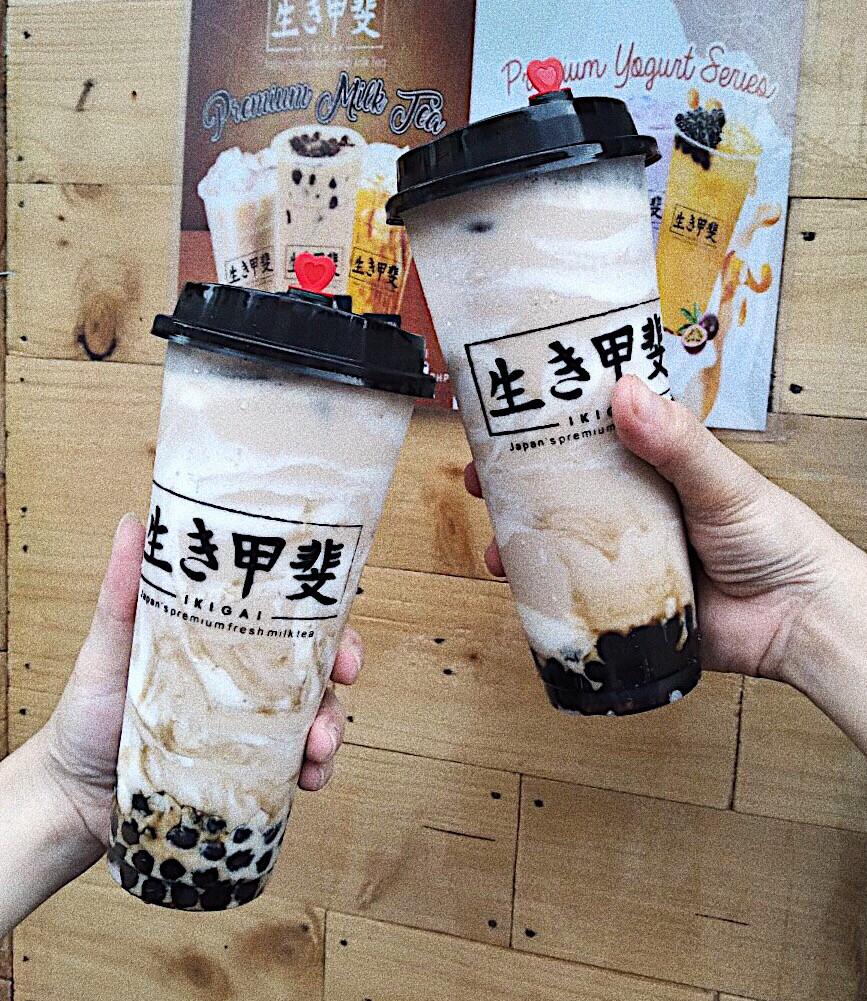 2 Cream Cheesee Milk Tea at P139 (Grande)