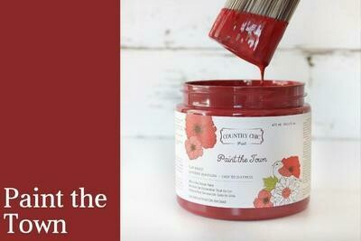 Country Chic Paint The Town Pint