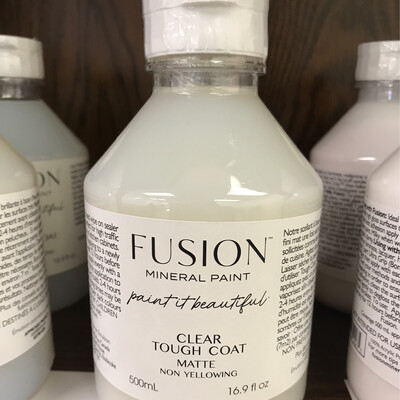 Fusion Tough Coat Clear Matte 500ml