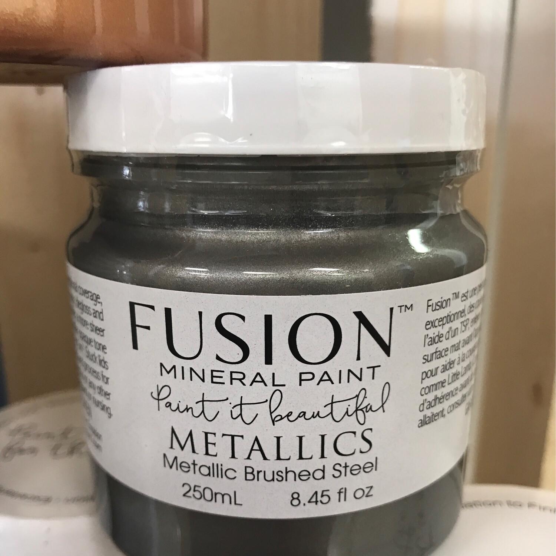Fusion Metallic  Brushed Steel 250ml