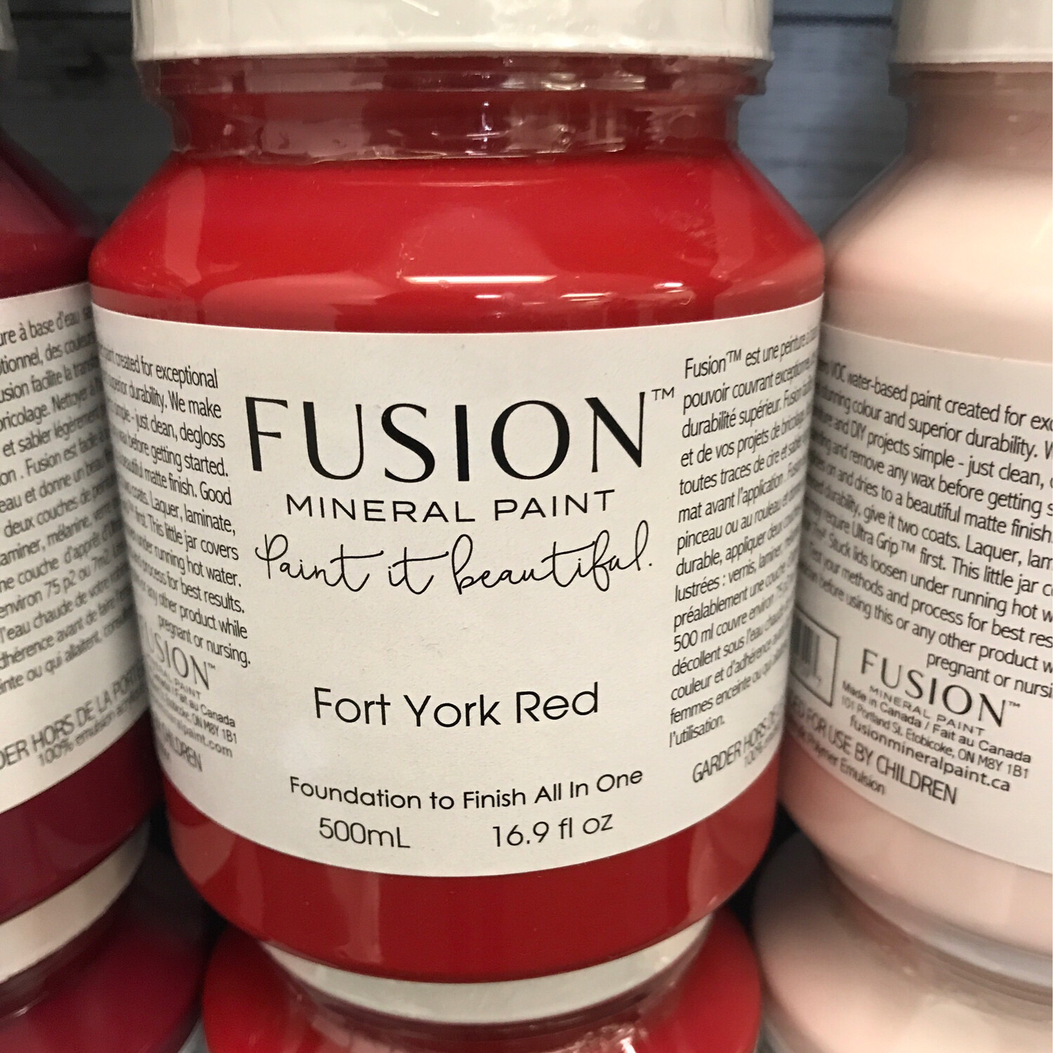 Fusion Fort York Red 500ml