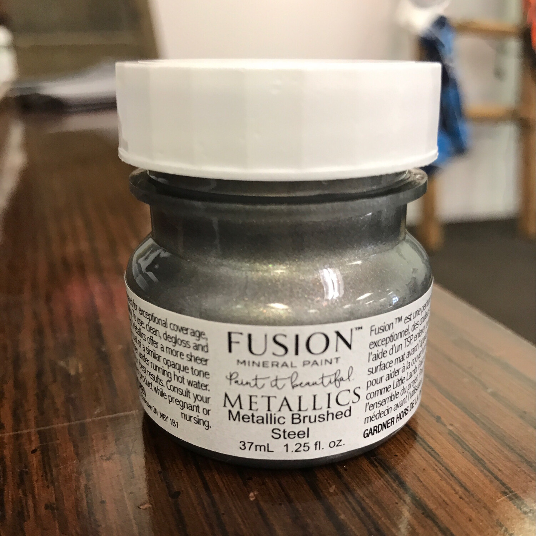Fusion Metallic Brushed Steel 37ml