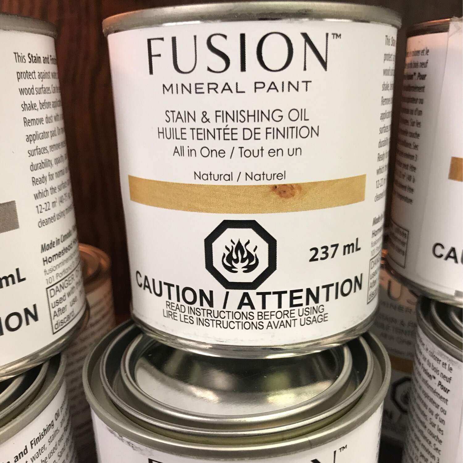 Fusion Stain Natural