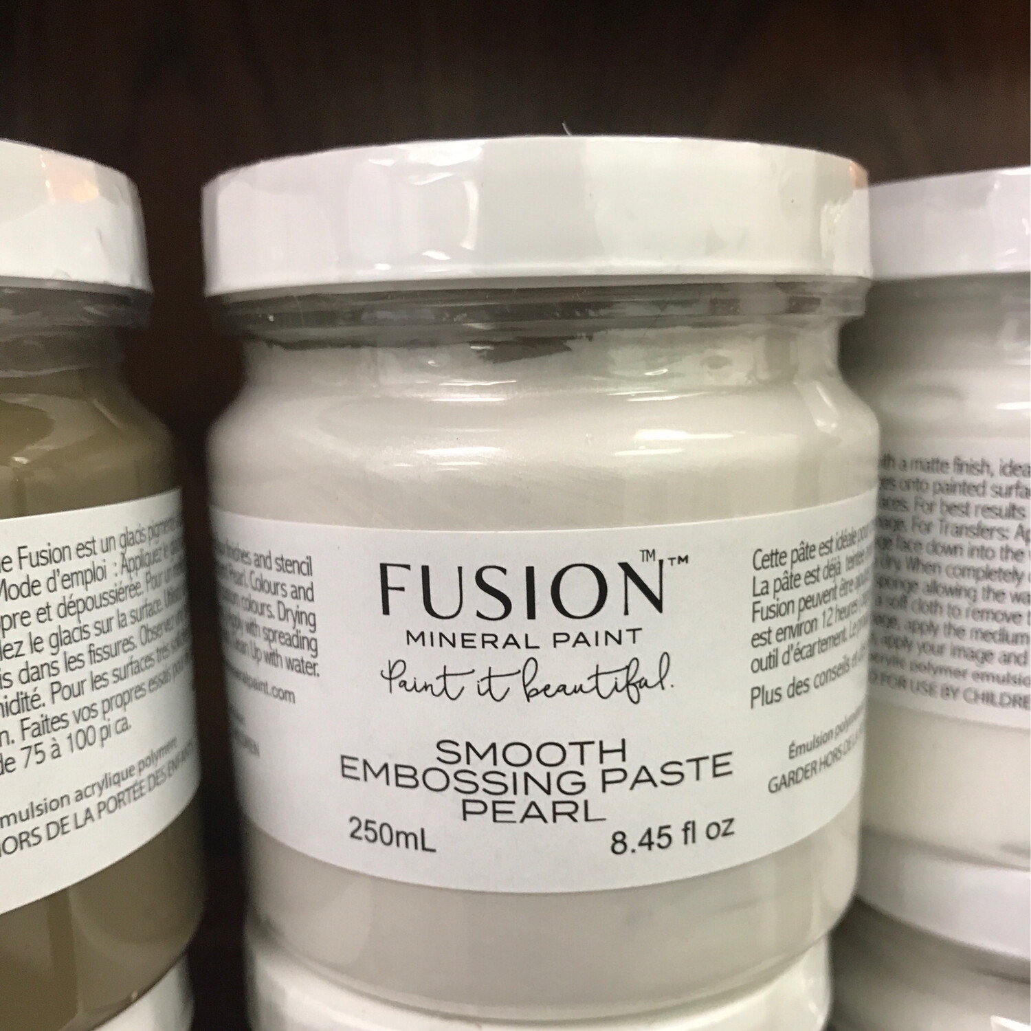Fusion Smooth Embossing Paste Pearl 250ml