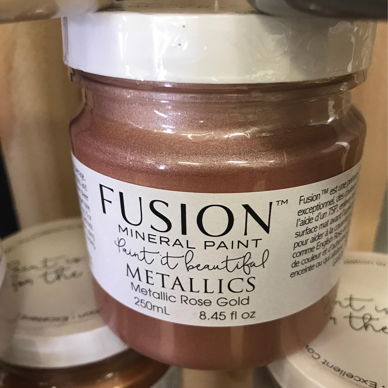Fusion Metallic Rose Gold 250ml