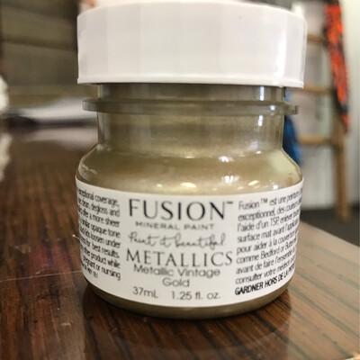 Fusion Metallic Vintage Gold 37ml