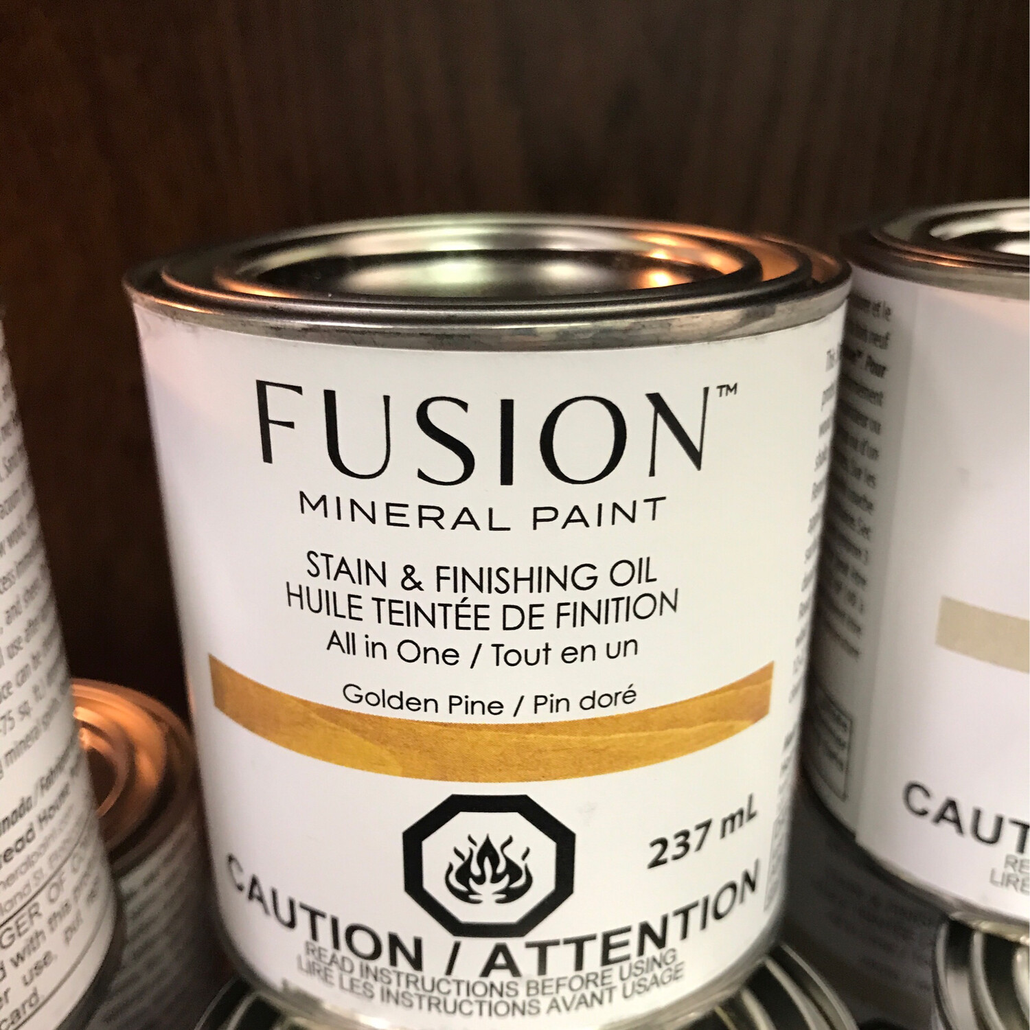 Fusion Stain Golden