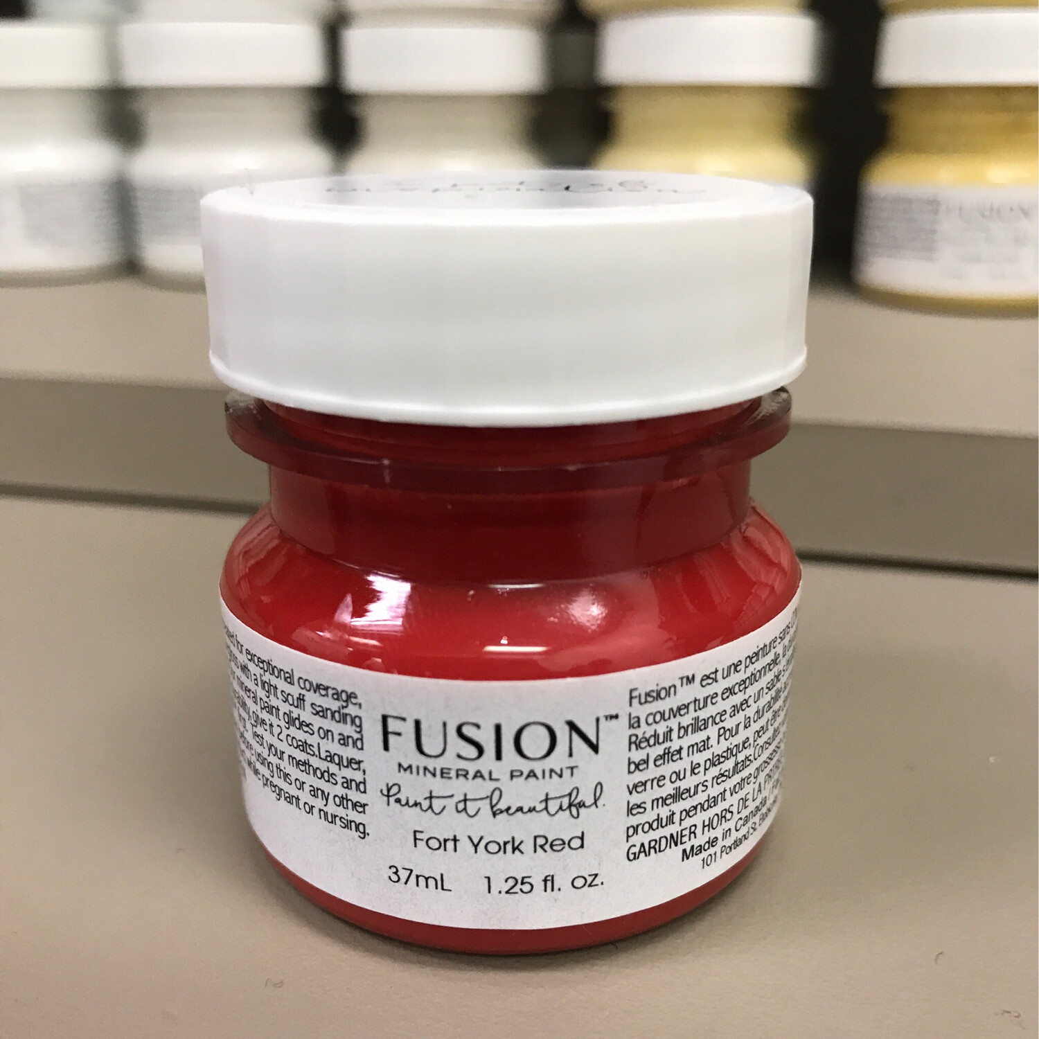Fusion Fort York Red 37ml