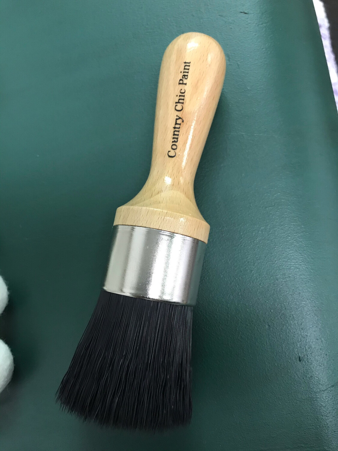 Country Chic Oval Brush