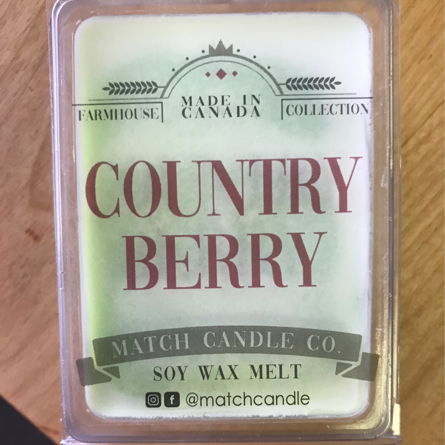 Country Berry Wax Melt