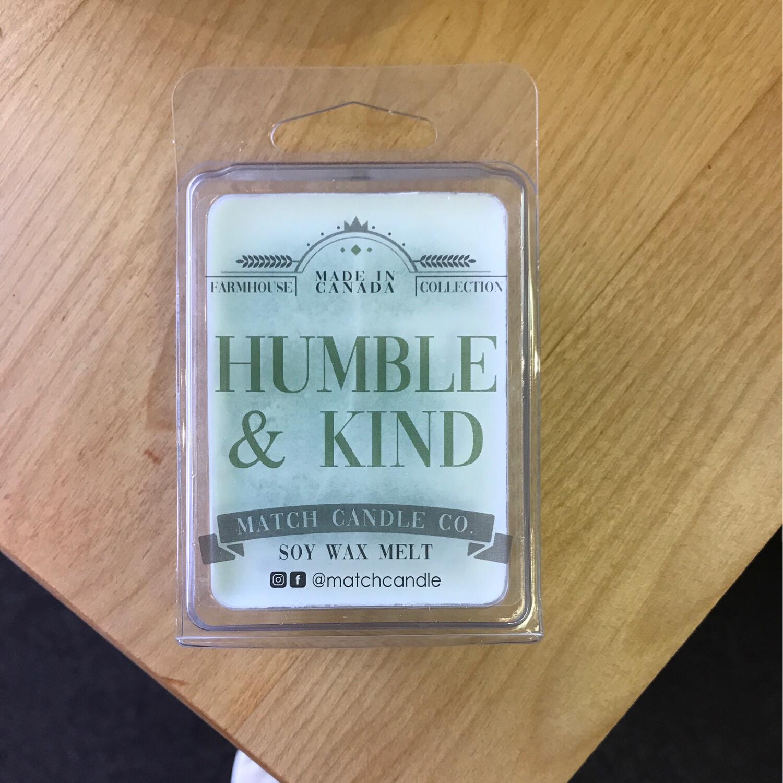 Humble and Kind Wax Melt