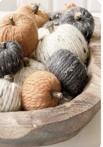 Pumpkins, Painting and Yarn Workshop