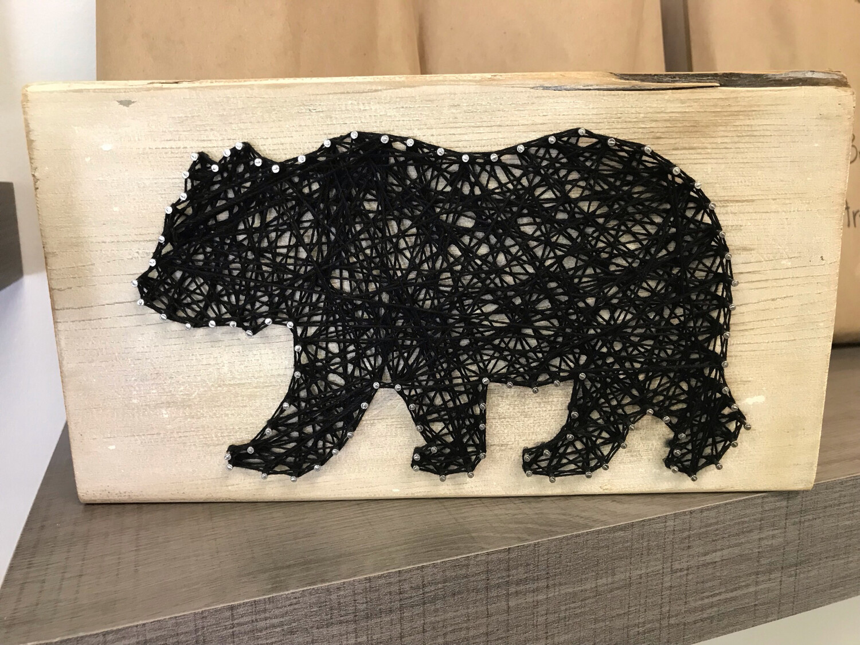 Bear String Art Kit