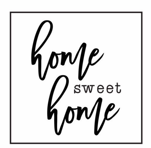 Home Sweet Home DIY Sign