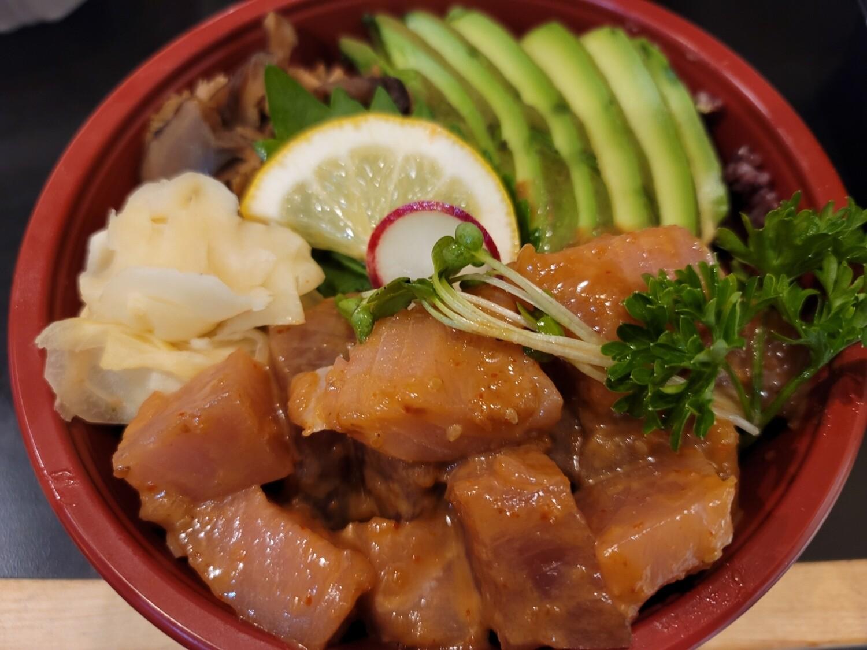 White Spicy Tuna Donburi