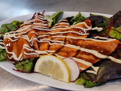 Aburi Salmon Sashimi